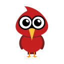 128x128px size png icon of cardinal