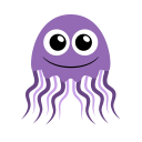 128x128px size png icon of jellyfish