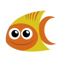 128x128px size png icon of tropical fish