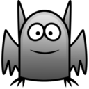 128x128px size png icon of bat