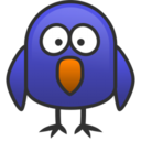 128x128px size png icon of bird