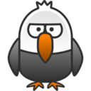 128x128px size png icon of eagle
