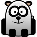 128x128px size png icon of panda