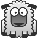 128x128px size png icon of sheep