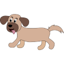 128x128px size png icon of dog