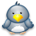 128x128px size png icon of Penguin