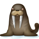 128x128px size png icon of Walrus