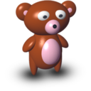 128x128px size png icon of Bear