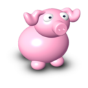 128x128px size png icon of Pig