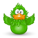 128x128px size png icon of Adium Flap