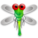 128x128px size png icon of Dragon fly