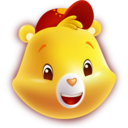 128x128px size png icon of Funshine Bear