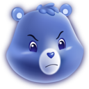 128x128px size png icon of Grumpy Bear