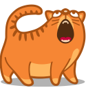 128x128px size png icon of cat sing