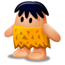 128x128px size png icon of Caveman