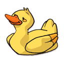 128x128px size png icon of Duck