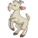 128x128px size png icon of Goat