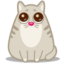 128x128px size png icon of cat eyes