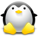 128x128px size png icon of Penguin 1