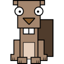 128x128px size png icon of Beaver