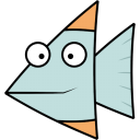 128x128px size png icon of Fish