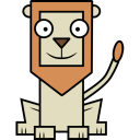 128x128px size png icon of Lion