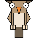 128x128px size png icon of Owl