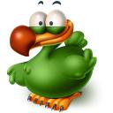 128x128px size png icon of The Extinct Flightless Adium Bird