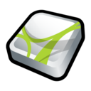 128x128px size png icon of Adobe Acrobat 3D