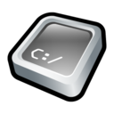 128x128px size png icon of Command Prompt