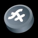 128x128px size png icon of Macromedia Flex