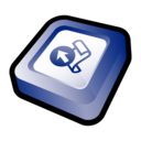 128x128px size png icon of Microsoft Office Front Page