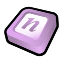 128x128px size png icon of Microsoft Office One Note