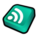128x128px size png icon of Newsfeed Atom