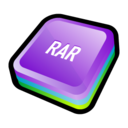 128x128px size png icon of WinRAR