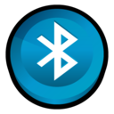 128x128px size png icon of Bluetooth