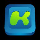 128x128px size png icon of Kazaa Media Desktop