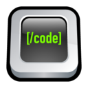 128x128px size png icon of Web Coding