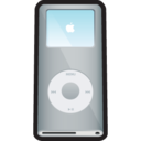 128x128px size png icon of iPod Nano Silver