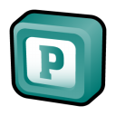 128x128px size png icon of Microsoft Office Publisher