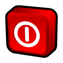 128x128px size png icon of Windows Turn Off
