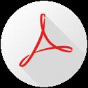 128x128px size png icon of Adobe Acrobat