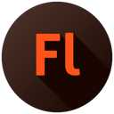 128x128px size png icon of Adobe Flash