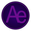 128x128px size png icon of Adobe Ae