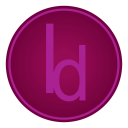 128x128px size png icon of Adobe Id