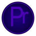 128x128px size png icon of Adobe Pr