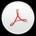 128x128px size png icon of Adobe Acrobat XI