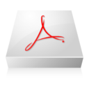 128x128px size png icon of Adobe Acrobat 2