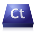 128x128px size png icon of Adobe Contribute