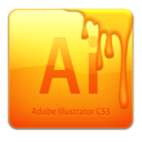 128x128px size png icon of Ai CS3